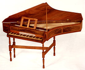 English Benside Spinet