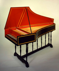 Flemish Single Harpsichord